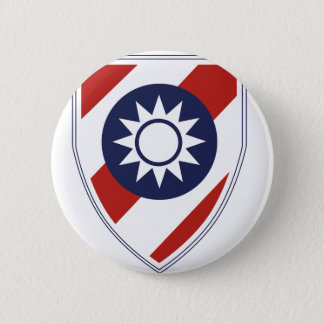 China Combat Training Command 6 Cm Round Badge