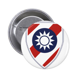 China Combat Training Command 6 Cm Round Badge