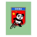 China Cycling China Post Cards