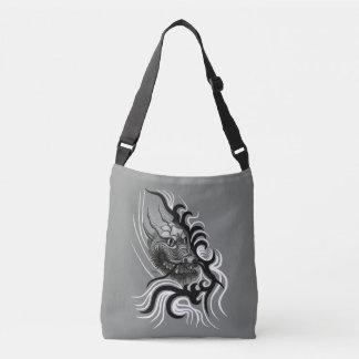 China Dragon in Tattoostyle Crossbody Bag