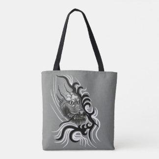 China Dragon in Tattoostyle Tote Bag