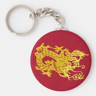 China Dragon Keychain