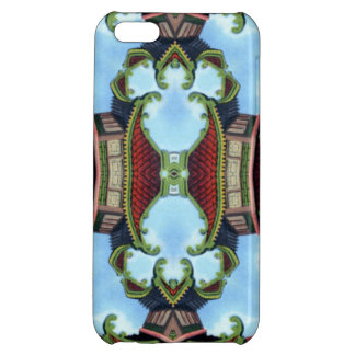 China Dream in a Kaleidoscope Pattern iPhone 5C Cover