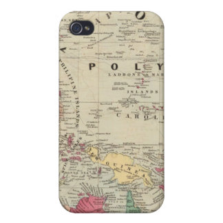 China EaSt. Indies Australia and Oceanica Case For iPhone 4