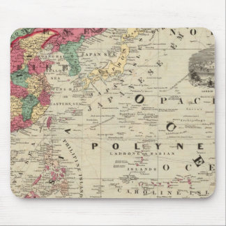 China EaSt. Indies Australia and Oceanica Mouse Mat