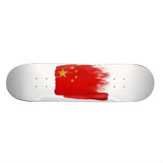 China Flag 18.1 Cm Old School Skateboard Deck