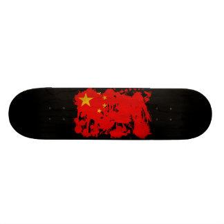 China Flag 20.6 Cm Skateboard Deck