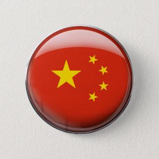 China Flag 6 Cm Round Badge