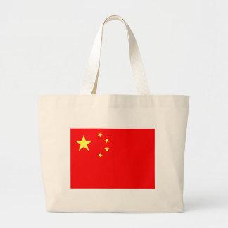 China Flag Jumbo Tote Bag