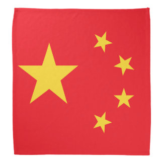China Flag Kerchiefs
