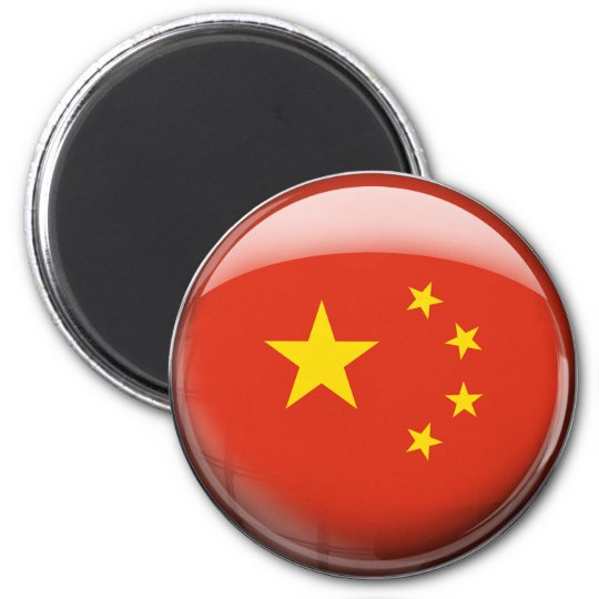 China Flag Magnet