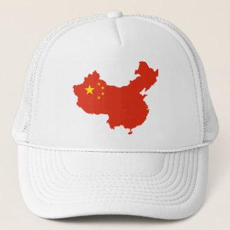 China Flag-map CN Trucker Hat