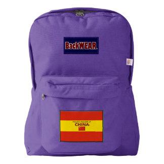China Flag Modern Designer backpacks Buy Online
