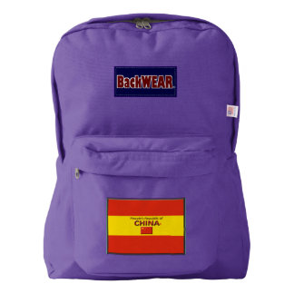 China Flag Modern Designer backpacks Buy Online Backpack