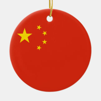 China Flag Ornament