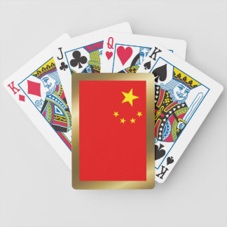 China Flag Playing Cards