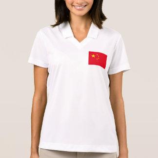 China Flag Polo T-shirt