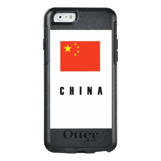 China Flag Simple Dark OtterBox iPhone 6/6s Case