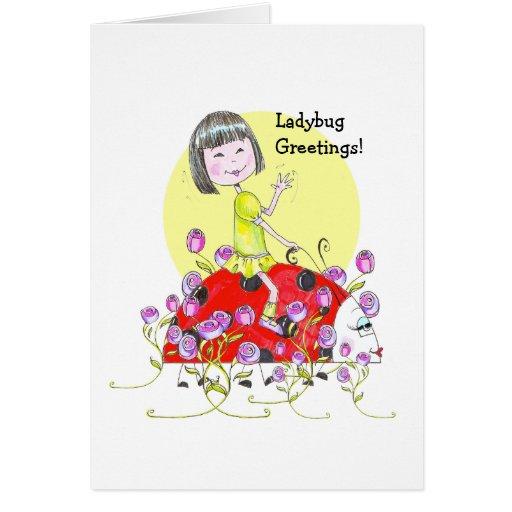 China Girl Notecard Card