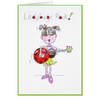 China Girl Notecard Note Card