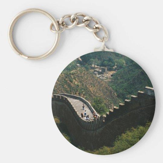 CHINA - GREAT WALL BASIC ROUND BUTTON KEY RING