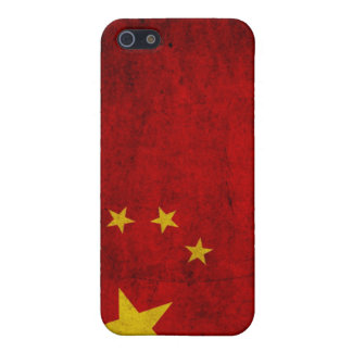 China Grunge Flag Cover For iPhone 5/5S