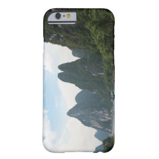 China, Guilin, Li River, River boats line the Barely There iPhone 6 Case