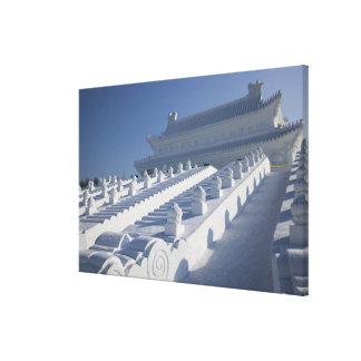 CHINA, Heilongjiang Province, Haerbin (Harbin). 2 Canvas Print