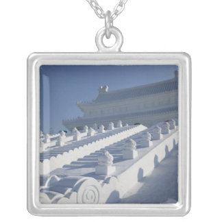 CHINA, Heilongjiang Province, Haerbin (Harbin). 2 Silver Plated Necklace