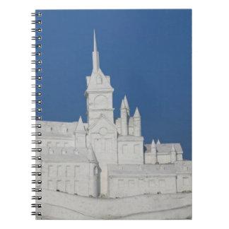 CHINA, Heilongjiang Province, Haerbin (Harbin). 3 Spiral Notebook