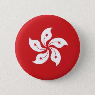 China Hong Kong Flag 6 Cm Round Badge