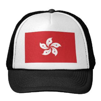 China Hong Kong Flag Mesh Hats