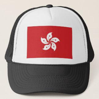 China Hong Kong Flag Trucker Hat