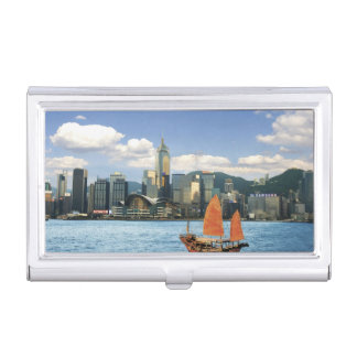 China; Hong Kong; Victoria Harbour; Harbor; A Business Card Holder