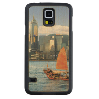 China; Hong Kong; Victoria Harbour; Harbor; A Carved Maple Galaxy S5 Case