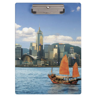 China; Hong Kong; Victoria Harbour; Harbor; A Clipboard