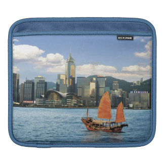 China; Hong Kong; Victoria Harbour; Harbor; A iPad Sleeve