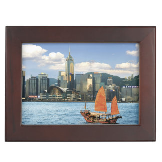 China; Hong Kong; Victoria Harbour; Harbor; A Keepsake Box