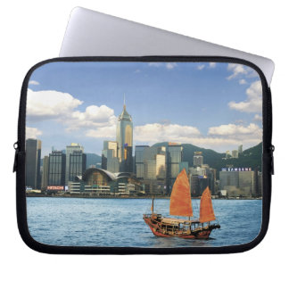 China; Hong Kong; Victoria Harbour; Harbor; A Laptop Sleeve