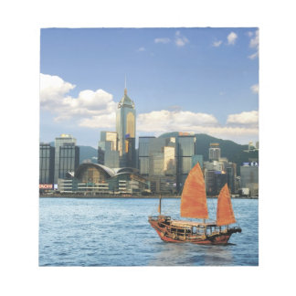 China; Hong Kong; Victoria Harbour; Harbor; A Notepad