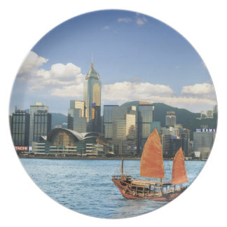 China; Hong Kong; Victoria Harbour; Harbor; A Plate