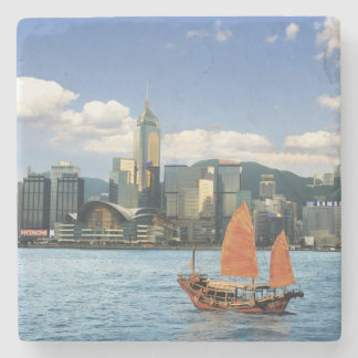 China; Hong Kong; Victoria Harbour; Harbor; A Stone Coaster