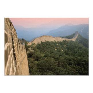 China, Huairou County, Mutianyu section of The 2 Photo Print
