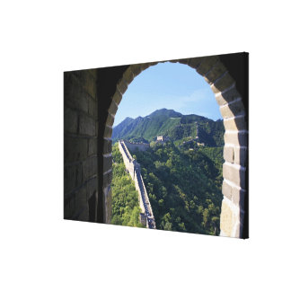 China, Huairou County, Mutianyu section of The Canvas Print