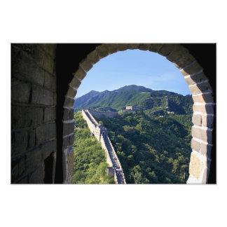 China, Huairou County, Mutianyu section of The Photo Print