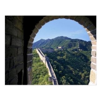 China, Huairou County, Mutianyu section of The Postcard
