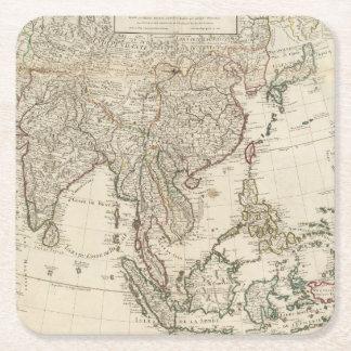 China, India, Asia Square Paper Coaster