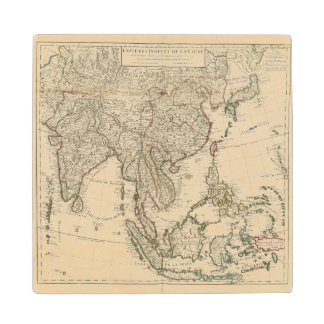 China, India, Asia Wood Coaster