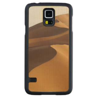China, Inner Mongolia, Badain Jaran Desert Carved Maple Galaxy S5 Case