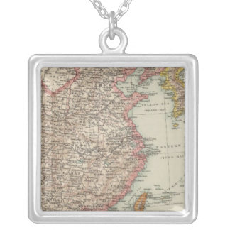 China, Japan 2 Silver Plated Necklace